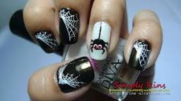 Serve up some spooky, spidery nails along with your homemade goodies.