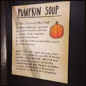 Pumpkin for dinner, pumpkin for dessert!