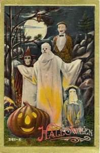 Vintage Halloween. Back when Halloween was still spooky.