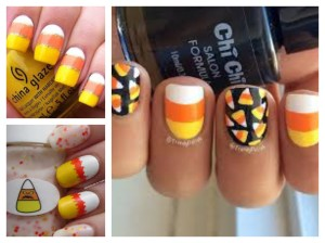"Even add a ""pop"" of candy corn to your beauty routine!"