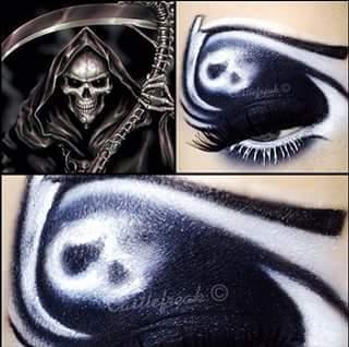 Fabulous eye art.