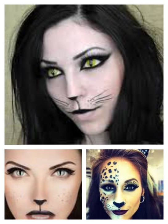Some sexy cat makeup ideas. Of course, adjust to your preferences. If it's